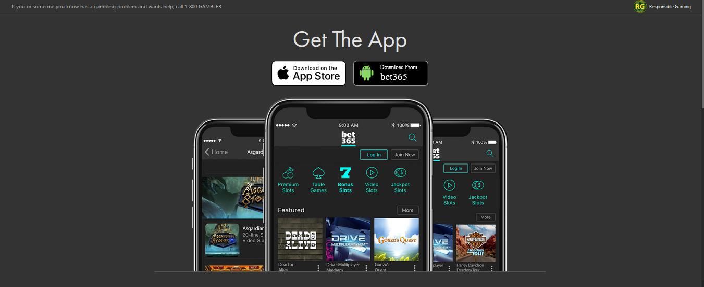 Bet365 con su App móvil