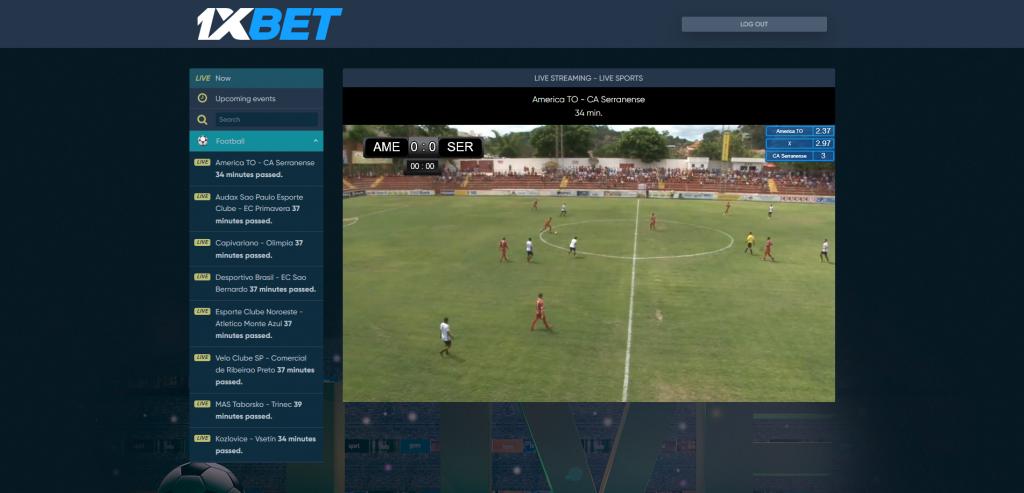 1xbet fútbol en vivo