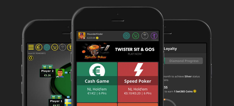 Aplicación Bet365 mobile